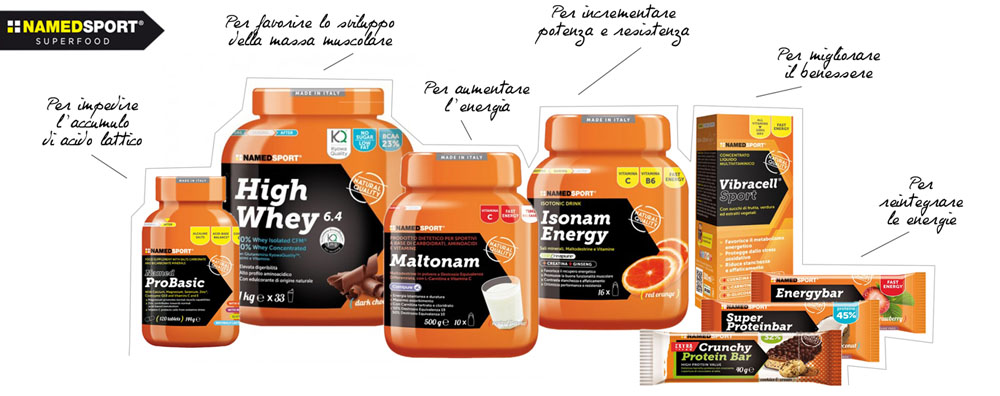 NAMED Sport® - La Tua Performance Al Top