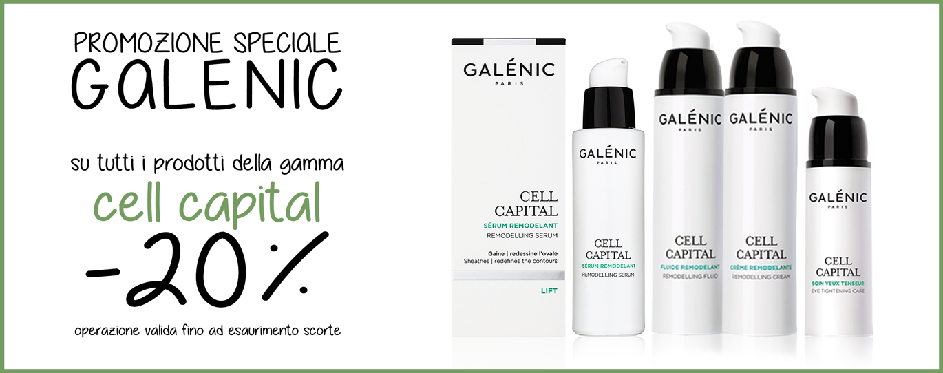 GALENIC Cell Capital - SCONTO -20%