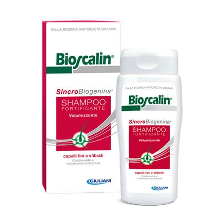 BIOSCALIN® Sincrobiogenina Shampoo Fortificante-Volumizzante 200 ml. d0892471fb1c