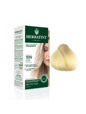 HERBATINT Gel Colorante Permanente per Capelli 10N - Biondo Platino 150 ml.