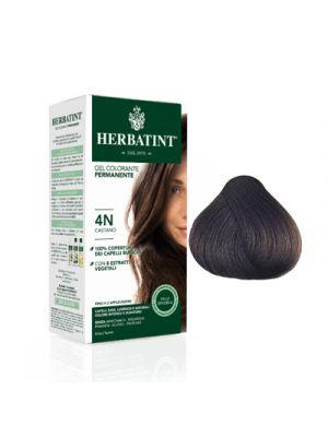 HERBATINT Gel Colorante Permanente per Capelli 4N - Castano 150 ml.