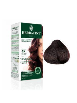 HERBATINT Gel Colorante Permanente per Capelli 4R - Castano Ramato 150 ml.
