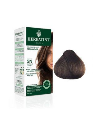 HERBATINT Gel Colorante Permanente per Capelli 5N - Castano Chiaro 150 ml.