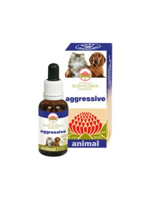 AUSTRALIAN BUSH FLOWER ANIMAL Aggressive 30 ml.