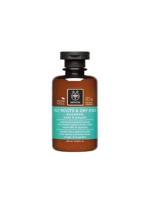 APIVITA Shampoo Cute Grassa e Punte Secche con Ortica e Propoli 250 ml.