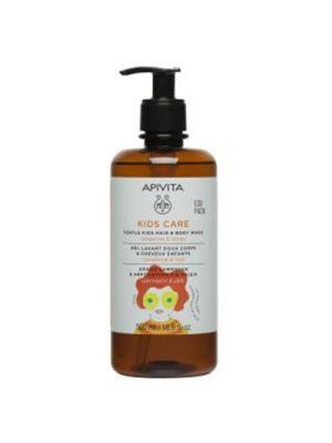 APIVITA Kids Detergente Corpo e Capelli con Miele e Mandarino 500 ml.