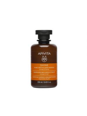 APIVITA Shampoo Illuminante Rivitalizzante con Arancio e Miele 250 ml.