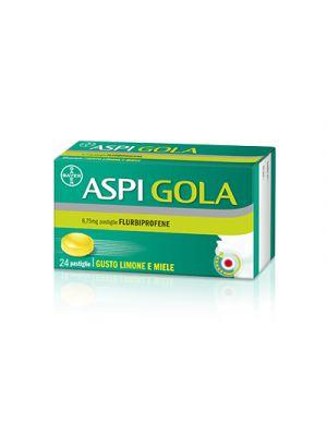 ASPI GOLA 8,75 mg. Pastiglie Gusto Limone e Miele 24 Pastiglie
