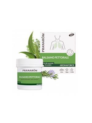 PRANAROM Aromaforce Balsamo Pettorale 80 ml.
