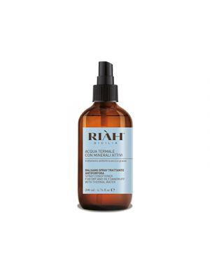 RIAH® Acqua Termale con Minerali Attivi Balsamo Spray Antiforfora 200 ml.