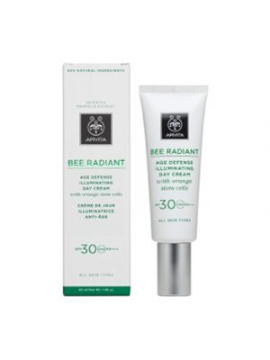 APIVITA Bee Radiant Crema Giorno Illuminante SPF30 Anti-Età 40 ml.