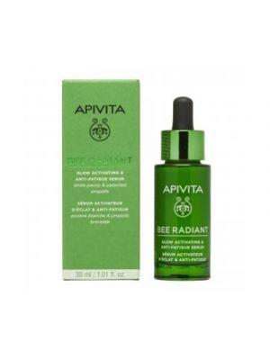 APIVITA Bee Radiant Siero Attivatore di Luminosità e Anti-Fatica 30 ml.