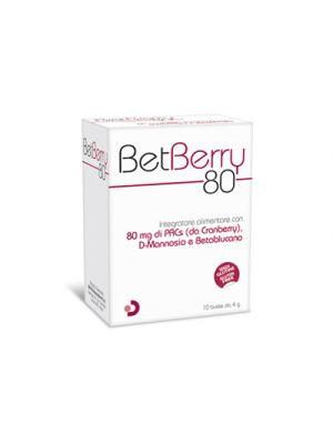 BETBERRY 80 10 Buste da 4 g.