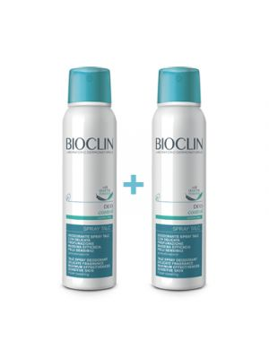 BIOCLIN Deodorante Control Spray Talc 150 ml. 1+1
