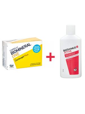 BIOMINERAL One con Lactocapil Plus 30 Compresse + Omaggio Donna