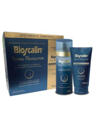 BIOSCALIN® Signal Revolution Trattamento Intensivo Rinforzante Ridensificante COFANETTO