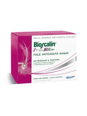 BIOSCALIN® TricoAge 45+ Anticaduta Antietà 10 Fiale