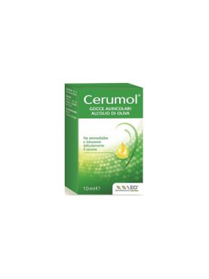 CERUMOL® Gocce Auricolari All'Olio di Oliva 10 ml.