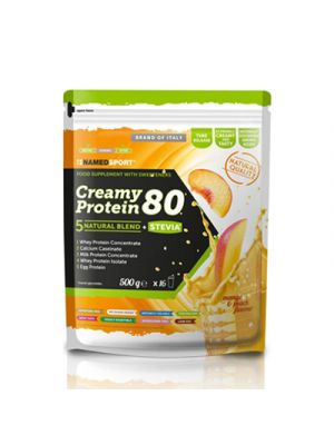 NAMED Sport Creamy Protein 80 500 g. - Gusto Mango & Peach