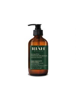 RIAH® Eucalipto+Finocchio Selvatico Crema Fortificante Capelli Deboli 200 ml.