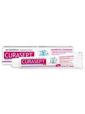 CURASEPT® Gel Dentifricio Trattamento Lenitivo 75 ml.
