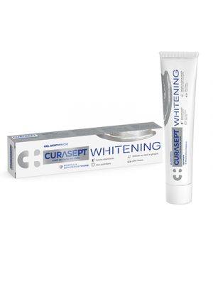 CURASEPT® WHITENING Gel Dentifricio Sbiancante 75 ml.