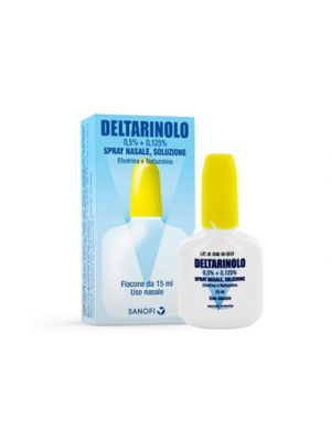 DELTARINOLO 0,5%+0,125% Spray Nasale 15 ml.