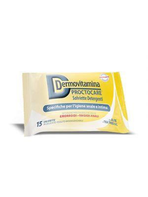 DERMOVITAMINA Proctocare® 15 Salviette Detergenti