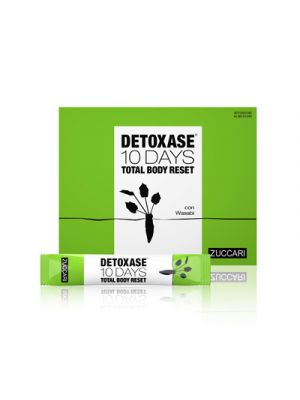 ZUCCARI Detoxase® 10 Days Total Body Reset 10 Stick-Pack da 3g.