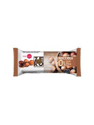DIETALAB Barretta Proteica 0% Ricoperta di Cioccolato 40 g. - Gusto Nocciola