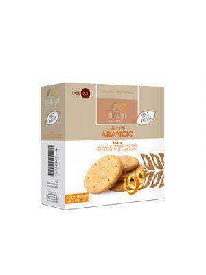 DIETALAB Biscotti Arancio 4 Confezioni da 5 Biscotti - Snack Proteico