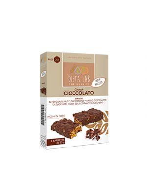 DIETALAB Crunch Cioccolato 3 Barrette da 35 g. - Snack Proteico