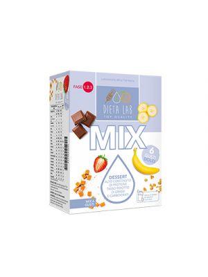 DIETALAB Dessert Mix 6 Gusti Dolci 6 Buste da 25 g.