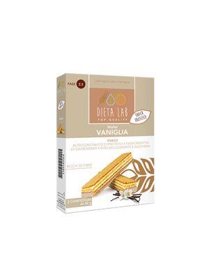 DIETALAB Wafer Vaniglia 2 Confezioni da 42 g. - Snack Proteico