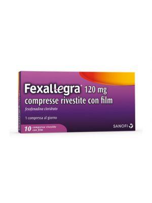 FEXALLEGRA® 120 mg. 10 Compresse Rivestite