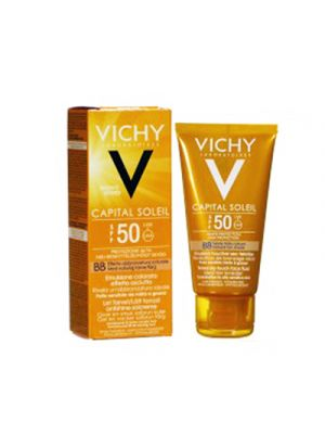 VICHY Capital Soleil BB Emulsione Viso Anti Lucidità Colorata SPF50 50 ml.