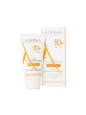 A-DERMA Protect Crema Solare Protezione Molto Alta SPF50+ 40 ml.