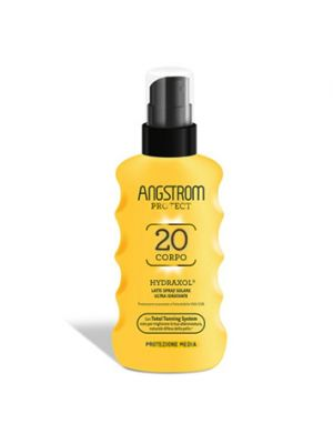 ANGSTROM Protect Hydraxol Latte Solare Ultra Idratante Spray SPF20 175 ml.