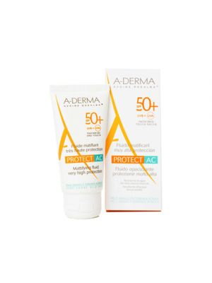 A-DERMA Protect AC Fluido Solare Opacizzante Protezione Molto Alta SPF50+ 40 ml.