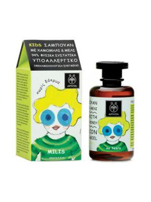 APIVITA Kids Shampoo con Camomilla e Miele 250 ml.