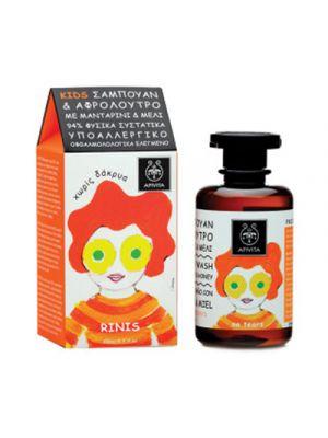 APIVITA Kids Detergente Corpo e Capelli con Miele e Mandarino 250 ml.