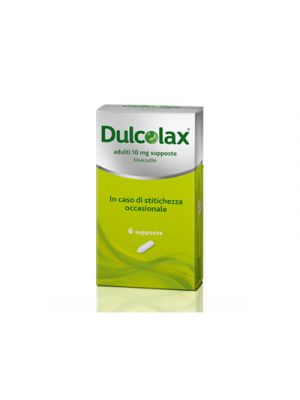 DULCOLAX® 6 Supposte 10 mg.