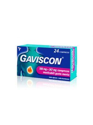 GAVISCON® 500 mg.+267 mg. 24 Compresse Aroma Menta