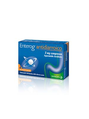 ENTEROG Antidiarroico 2 mg. 12 Compresse