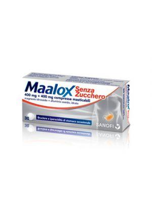 MAALOX 30 Compresse Masticabili Senza Zucchero