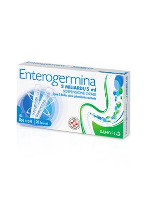 ENTEROGERMINA® 2 miliardi 10 Flaconcini 5 ml.