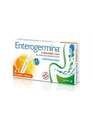 ENTEROGERMINA 4 miliardi 10 Faconcini 5 ml.