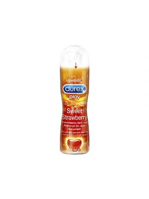DUREX Pleasure Gel Sweet Strawberry Lubrificante Intimo 50 ml.