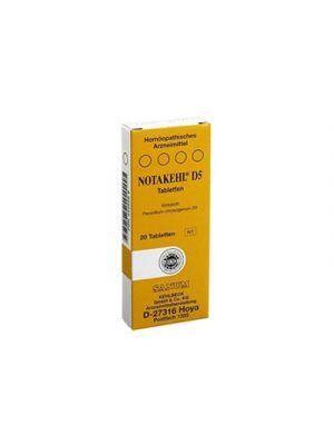 SANUM Notakehl® D5 20 Compresse
