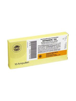 SANUM Notakehl® D5 10 Fiale